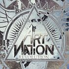 USED ART NATION Revolution + 4 JAPAN CD Sweden Melodious Hard Rock ! F/S
