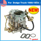 Carburetor Fit Plymouth models  Dodge Truck 1966 1973 with 273 318 engine