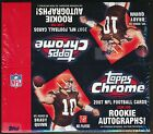 2007 TOPPS CHROME FOOTBALL TRADING CARDS SEALED RETAIL BOX