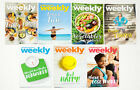 LOT OF 7 WEIGHT WATCHERS WEEKLY GUIDES JULY  AUGUST 2017 WITH RECIPES FREE SHIP