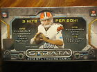 Factory Sealed Hobby Box - 2014 Topps Strata Football Cards