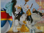 RIP SQUEAK LTD 95 595 LARGE GICLEE ON CANVAS SQUEAKY CLEAN SWEET