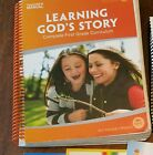My Fathers World First Grade Learning Gods Story Curriculum Teachers Manual +