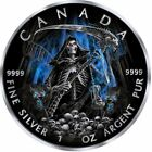 2017 Can 5 GRIM REAPER of Armageddon enhanced 1 oz 9999 silver coin