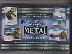 2016-17 Leaf Metal Hockey Factory Sealed Brand New Hobby Box - 7 HITS per box!