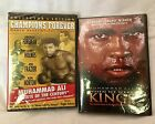 Lot of 2 NIP DVD's Muhammad Ali Collector's Edition Cassius Clay ButterflyBee KO