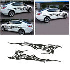 2pcs Flame Car Sticker Decal Vinyl Graphics for Car Body Truck Left Right Side