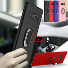 Ring Holder Magnetic Car Case TPU Soft Cover For Samsung Galaxy Note 8 S8 Plus