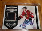 2010 11 JONATHAN TOEWS LIMITED BANNER SEASON ON CARD AUTOGRAPH PATCH SP 15 15