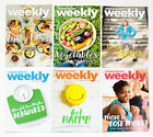 LOT OF 6 WEIGHT WATCHERS WEEKLY GUIDES JULY  AUGUST 2017 WITH RECIPES
