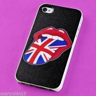 S Colorful Red Lips Back Skin Hard Cover Case for Apple i-phone 4 4S 4G G