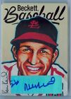 STAN MUSIAL 2017 NATIONAL BECKET METAL PROMO AUTO AUTOGRAPH SP