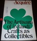 Acquire March 1976  (Vol 5, No. 1) Beer Steins, Stained Glass, American Art, etc