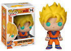 FUNKO BOBBLE HEAD POP CULTURA DRAGON BALL Z SUPER SAYAN GOKU FIGURA NEW