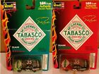 Lot of 2 1998 Revell Team Tabasco #35 Racing Car Diecast 1:64 Red Green Bodine