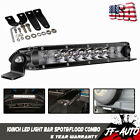 FRONT HEADLIGHT 50W 10INCH LED LIGHT BAR Combo Beams FOR RUCKUS/ZOOMER