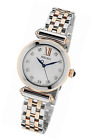 SRZ400P1 Seiko Women's Quartz Analogue Watch-Plated Stainless Steel Strap Multic