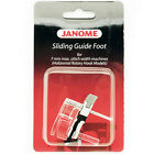 Sliding Guide Foot #202218005 For Janome 7mm Max Stitch Width Sewing Machine