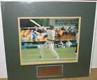 Gary Kirsten South Africa signed 8x10 photo Test Cut Shot matted plaque COA