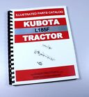 KUBOTA L185F TRACTOR PARTS ASSEMBLY MANUAL CATALOG EXPLODED VIEWS NUMBERS