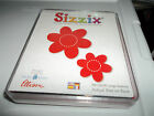 SIZZIX LARGE RED LARGE DAISIES DIE 38 0208 PLASTIC CASE