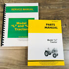 SERVICE MANUAL SET FOR JOHN DEERE LI TRACTOR REPAIR PARTS CATALOG TECHNICAL