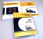 SERVICE MANUAL SET FOR JOHN DEERE 350C CRAWLER LOADER BULLDOZER OPERATORS PARTS