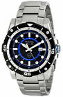 Bulova 98B177 Mens Marine Star 100M Dress Stainless Steel Silver-Tone Date Watch