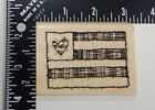 DJ Inkers Flag Patch Rubber Stamp K46
