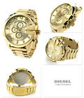 DIESEL Mega Chief DZ4360 Gold-tone Stainless Steel Wrist Watch for Men