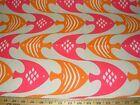 9 YDS PK LIFESTYLES FISH OCEAN CURRENT OUTDOOR UPHOLSTERY FABRIC FOR LESS