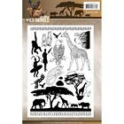 Wild Animals Clear Unmounted Stamps Set Find It Trading AMY DESIGN ACS10017 New