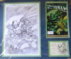 Limited Edition DC Cover All Star Batman and Robin By Jim Lee 145 of 500 COA