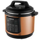 Programmable Electric Pressure Kitchen Pot Multi Cooker 8Qt 7 in 1 Faster Cook