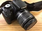 Canon EOS Digital Rebel XTi 400D 101 MP Black SLR Camera EFS 18 55mm Lens
