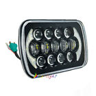 85W 7x6 5x7 Square LED Hi Lo Beam Headlight Halo DRL For Jeep Cherokee XJ YJ