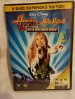 New Set of 2 Hannah Montana  Miley Cyrus Best of Both Worlds Concert 2008 2 DVD