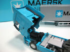 Diecast 1 50 MAERSK Container Truck Alloy Transport Car Vehicles Lorry Blue Toy