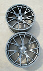 20 FACTORY STYLE DODGE CHARGER SRT HELLCAT 20x11 SATIN BLACK TWO WHEELS RIMS