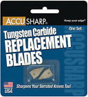 AccuSharp Sharpener Individually packaged tungsten carbide replacement blade