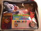 1999 Ty Beanie Babies Official Platinum Membership Kit  Clubby II  Never Opened