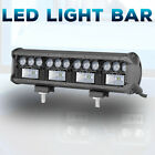 8 102W Side Shooter LED Work Light Bar 3 Row Combo 6000K Driving Off Road 4WD