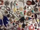 Charm Pendant Focal Bead Funky Stuff Lot For Crafts And Jewelry 2