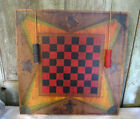 Primitive Style grubby paint Checker Checkers gameboard gameboard wood look