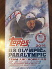 Factory Sealed Hobby Box - 2014 Topps U.S. Olympic & Paralympic Olympics Cards