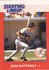 DON MATTINGLY STARTING LINEUP CARD  FREE SHIPPING