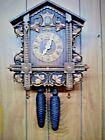 Large 8 Day Antique German Cuckoo Clock