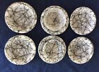 White Spaghetti String Drizzle Pieces Coasters Bowls