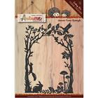 Autumn Color Frame Die Cutting Die Find It Trading Yvonne Creations YCD10106 New