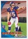 2010 Topps #440B Tim Tebow SP RC Pointing his finger